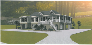 Wilkes Rendering Front Right side