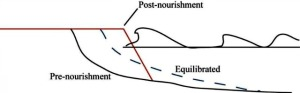 renourishment diagram