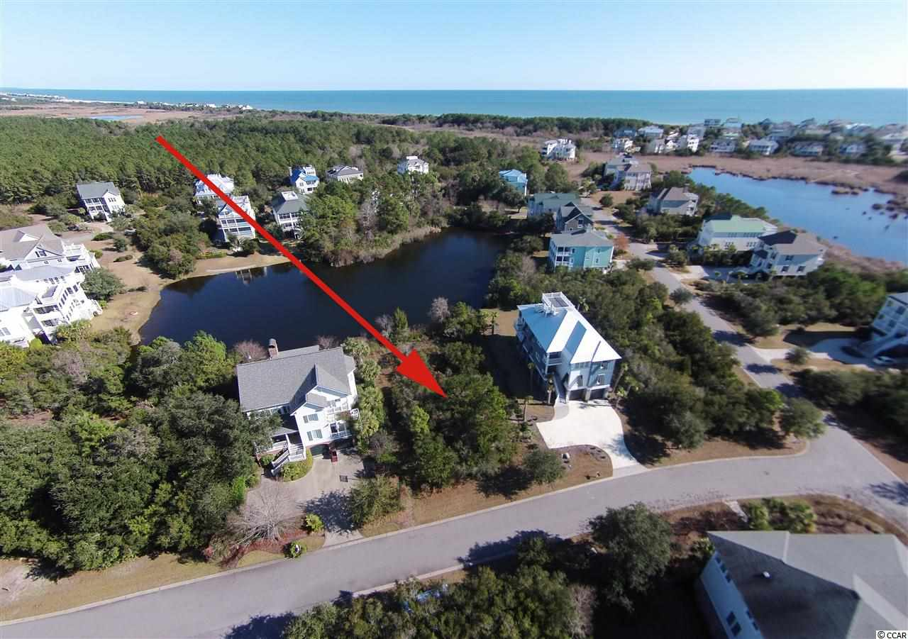 Lot 50 Ocean Oaks with arrow